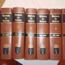 Libros de segunda mano: HISTORIA DE GALICIA, MANUEL MURGUIA,BENITO VICETTO, FACSIMIL, 1979, 7 TOMOS.. Lote 141587754