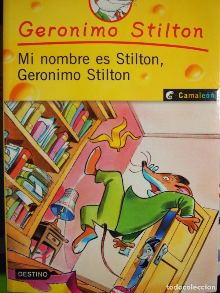 geronimo stilton. mi nombre es stilton, geronim - Comprar en ...