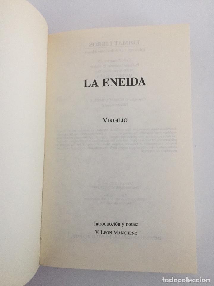 Libros de segunda mano: La Eneida - Virgilio - Foto 2 - 141746237