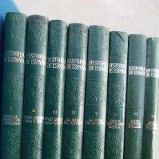 Gebrauchte Bücher - HISTORIA DE ESPAÑA 8 TOMOS INSTITUTO GALLACH - 141874870