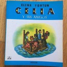 Libros de segunda mano: CELIA Y SUS AMIGOS, ELENA FORTUN AGUILAR. Lote 141876206