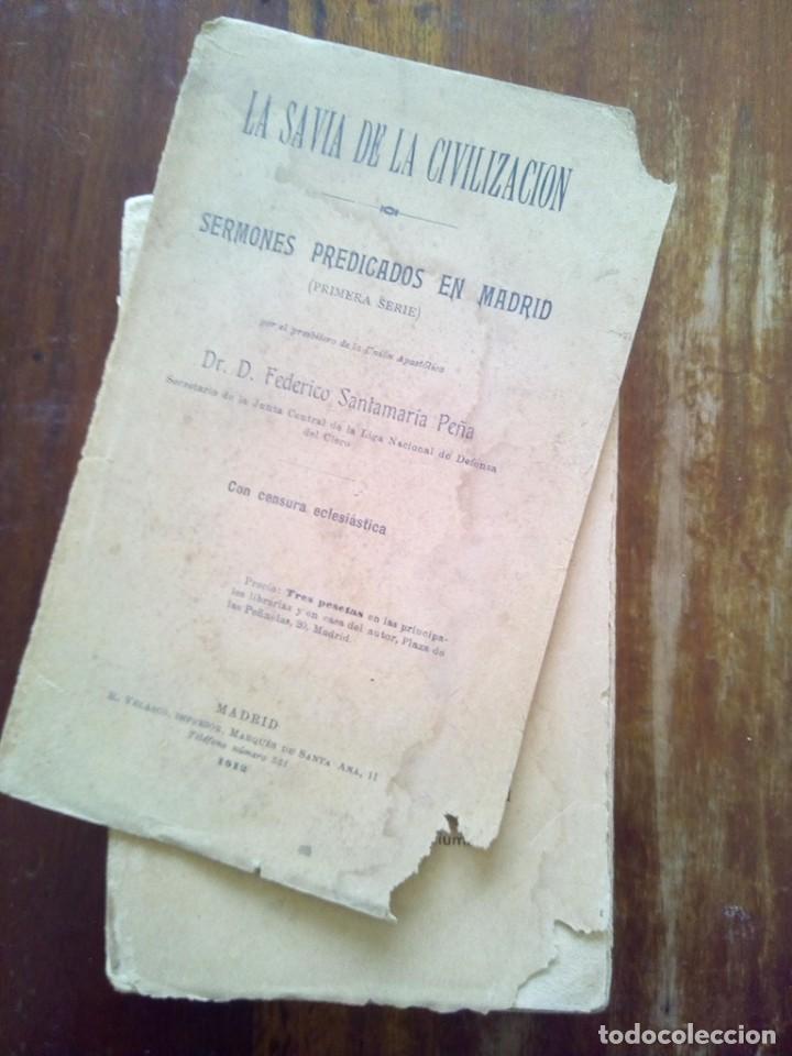 Libros de segunda mano: TUBAL 1912 SAVIA DE LA CIVILIZACION FEDERICO SANTAMARIA 19 CM 400 GRS - Foto 7 - 141911870