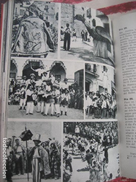 Libros de segunda mano: Guia de Festes Tradicionals de Catalunya. Joan Amades. 1958- Ed. Aedos. - Foto 3 - 142038626