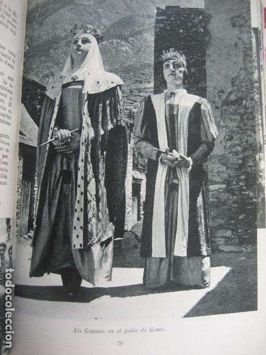 Libros de segunda mano: Guia de Festes Tradicionals de Catalunya. Joan Amades. 1958- Ed. Aedos. - Foto 5 - 142038626