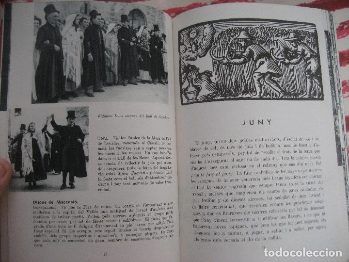 Libros de segunda mano: Guia de Festes Tradicionals de Catalunya. Joan Amades. 1958- Ed. Aedos. - Foto 7 - 142038626