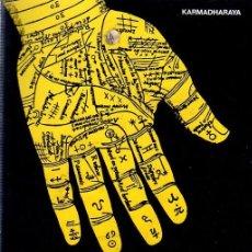Libros de segunda mano: QUIROMANCIA. KARMADHARAYA. EDITORIAL DE VECCHI. 1981.. Lote 142048290