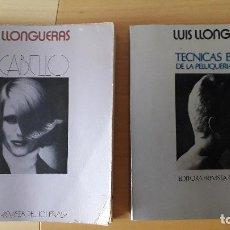 Libros de segunda mano: ENCICLOPEDIA PELUQUERIA FEMENINA LUIS LLONGUERAS / 2 TOMOS / COMPLETA./ ANOS 70. Lote 142091662