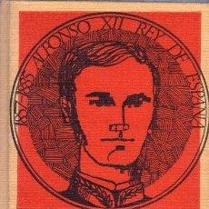 Libros de segunda mano: ALFONSO XII. CARLOS CERZALES. EDICIONES RODEGAR. 1965.. Lote 142150810