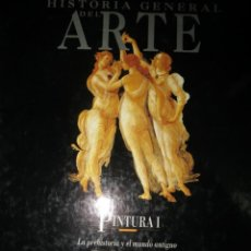 Libros de segunda mano: HISTORIA DEL ARTE. PINTURA 1.. Lote 142156042