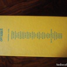 Libros de segunda mano: LOUIS VUITTON. GUIA 2006. 9 TOMOS. 30 EUROPEAN CITIES.. Lote 106538159