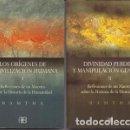 Libros de segunda mano: LOS ORIGENES DE LA CIVILIZACION HUMANA I Y II. 2 TOMOS. - RAMTHA - A-ANT-191. Lote 161113444