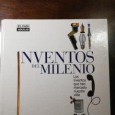 Libros de segunda mano: INVENTOS DEL MILENIO (FALTAN SEIS FICHAS DETALLADAS EN LA DESCRIPCION). Lote 142286798