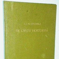 Libros de segunda mano: DE CULTU HORTORUM. Lote 142288574