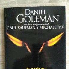 Libros de segunda mano: EL ESPÍRITU CREATIVO ** DANIEL GOLEMAN, PAUL KAUFMANN Y MICHAEL RAY.. Lote 142295470