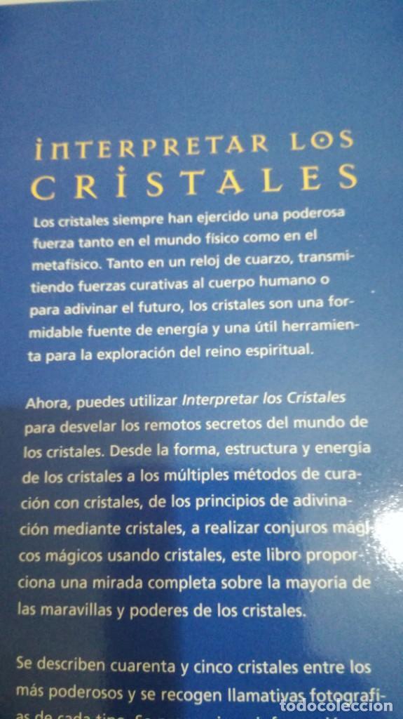Libros de segunda mano: INTERPRETAR LOS CRISTALES-Sue Lilly - Foto 10 - 142340814