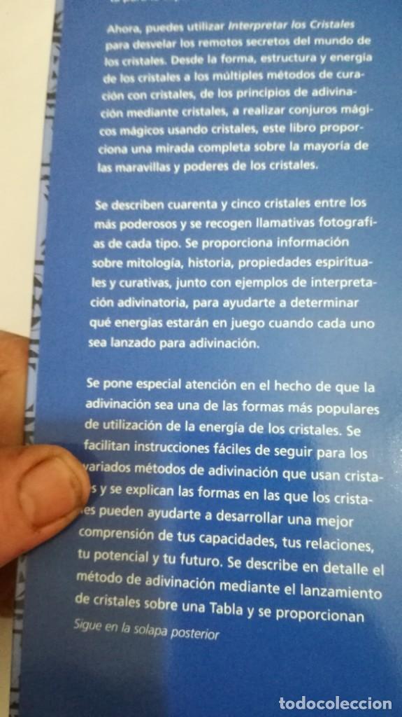 Libros de segunda mano: INTERPRETAR LOS CRISTALES-Sue Lilly - Foto 11 - 142340814