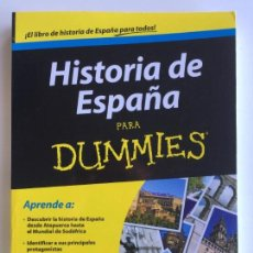 Libros de segunda mano: HISTORIA DE ESPAÑA PARA DUMMIES - FERNANDO GARCÍA DE CORTÁZAR. Lote 142416870