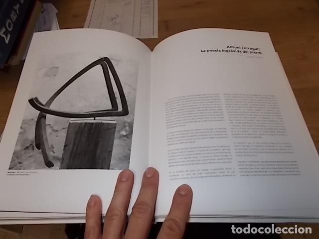 Libros de segunda mano: ANTONI FERRAGUT.RETROSPECTIVA.CASAL SOLLERIC.2009.IMPRESIONANTE EJEMPLA.VER FOTOS. HIERRO, BRONCE... - Foto 21 - 142501594
