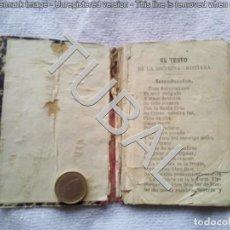 Libros de segunda mano: TUBAL CATECISMO 13 CM 250 GRS. Lote 142534134