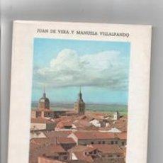 Libros de segunda mano: ESTUDIO HISTÓRICO- ARTÍSTICO DE CARBONERO EL MAYOR. JUAN DE VERA Y MANUELA VILLALPANDO.. Lote 142577704