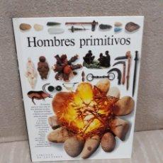 Libros de segunda mano: HOMBRES PRIMITIVOS - BIBLIOTECA VISUAL - CÍRCULO DE LECTORES. Lote 142612346