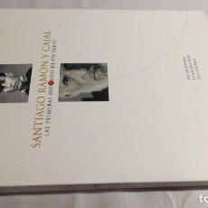 Libros de segunda mano: SANTIAGO RAMÓN Y CAJAL-LAS PRIMERAS ANDANZAS DE UN SABIO-GARCÉS ROMEO, J. SATUÉ OLIVÁN-LIBRO NUEVO. Lote 142639950