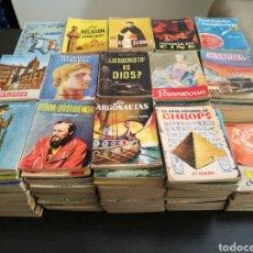 Libros de segunda mano: GRAN LOTE 375 LIBROS ENCICLOPEDIA PULGA. Lote 142767000