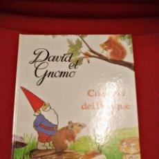 Libros de segunda mano: DAVID EL GNOMO CUENTOS DEL BOSQUE,PLAZA JANES 1986. Lote 142867112