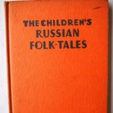 Libros de segunda mano: THE CHILDREN'S BOOKS OF RUSSIAN FOLK-TALES. LIBRO EN INGLÉS. Lote 142914166