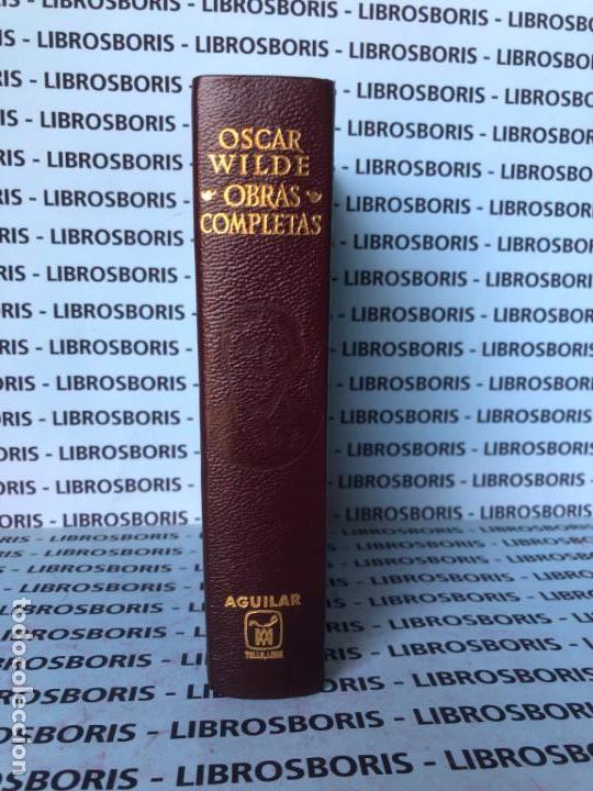 OSCAR WILDE - OBRAS COMPLETAS - AGUILAR - OBRAS ETERNAS. (Libros de Segunda Mano - Bellas artes, ocio y coleccionismo - Otros)