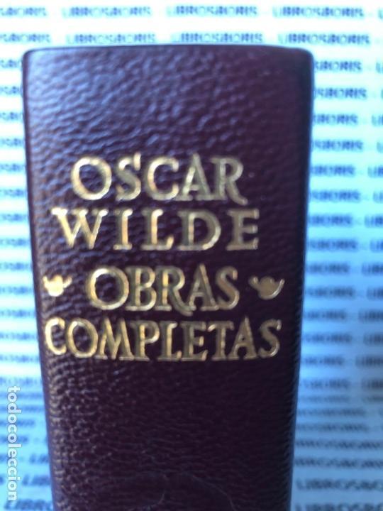 Libros de segunda mano: OSCAR WILDE - OBRAS COMPLETAS - AGUILAR - OBRAS ETERNAS. - Foto 2 - 142920442