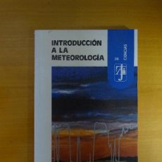 Libros de segunda mano: INTRODUCCIÓN A LA METEOROLOGÍA. J. CATALÁ DE ALEMANY. Lote 143053642
