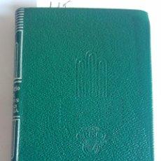 Libros de segunda mano: AGUILAR - COLECCION : CRISOL - Nº 115 -AZUL. CUENTOS. POEMAS EN PROSA - RUBÉN DARÍO. Lote 143059006