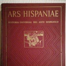 Libros de segunda mano: ARS HISPANIAE: ESCULTURA DEL SIGLO XVII, VOL. XVI POR ELENA GÓMEZ MORENO. BUEN ESTADO. Lote 143075554