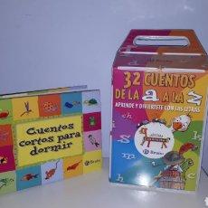 Libros de segunda mano: 32 CUENTOS DE LA A A LA Z. EDITORIAL BRUÑO.. Lote 143151637