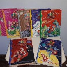 Libros de segunda mano: 7 LIBROS DE LA COLECCION KIKA SUPERBRUJA. Lote 143157841