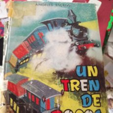 Libros de segunda mano: UN TREN DE POCOS AÑOS ESTANTE OLORON. Lote 143164218