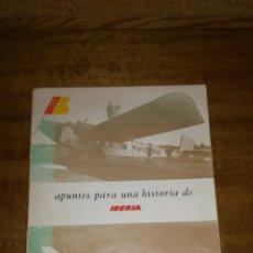 Libros de segunda mano: APUNTES PARA LA HISTORIA DE IBERIA, 1982. Lote 143191673