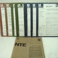 Libros de segunda mano: 1974 -8 LAMINAS NTE-NORMATIVA TECNOLOGICA DE EDIFICACION-RPG REVESTIMIENTOS PARAMETROS GUARNECIDOS. Lote 148400069