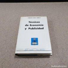 Libros de segunda mano: TECNICAS DE ECONOMIA Y PUBLICIDAD...1969.... Lote 143268226