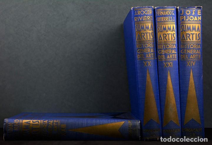 SUMMA ARTIS.HISTORIA GENERAL DEL ARTE.LOTE 2 VOLÚMENES. (Libros de Segunda Mano - Bellas artes, ocio y coleccionismo - Otros)