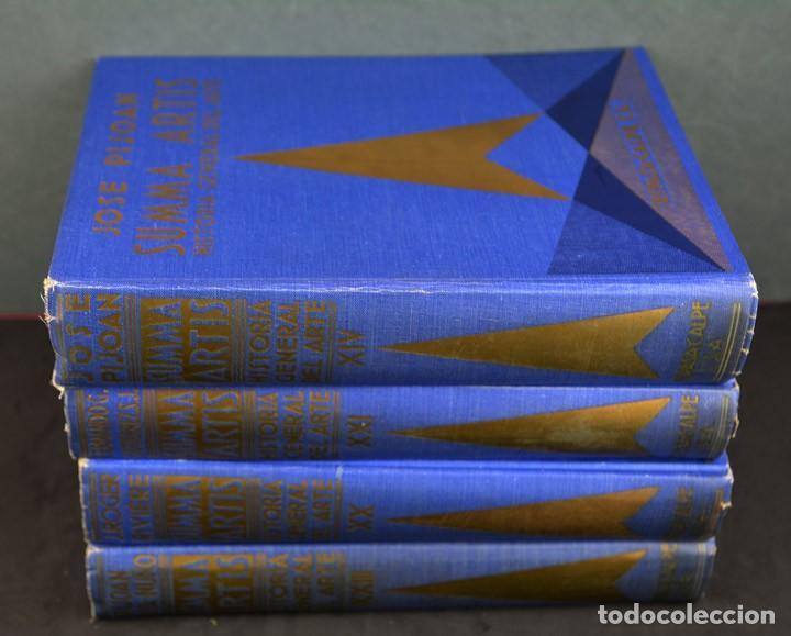 Libros de segunda mano: SUMMA ARTIS.HISTORIA GENERAL DEL ARTE.LOTE 2 VOLÚMENES. - Foto 2 - 155486836