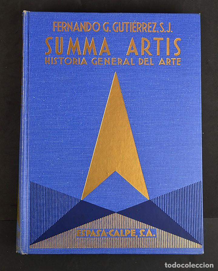 Libros de segunda mano: SUMMA ARTIS.HISTORIA GENERAL DEL ARTE.LOTE 2 VOLÚMENES. - Foto 3 - 155486836