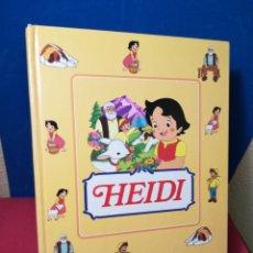 Libros de segunda mano: HEIDI COLECCIÓN COMPLETA ENCUADERNADA 35 FASCICULOS - CLUB INTERNACIONAL DEL LIBRO, 1995. Lote 143369517