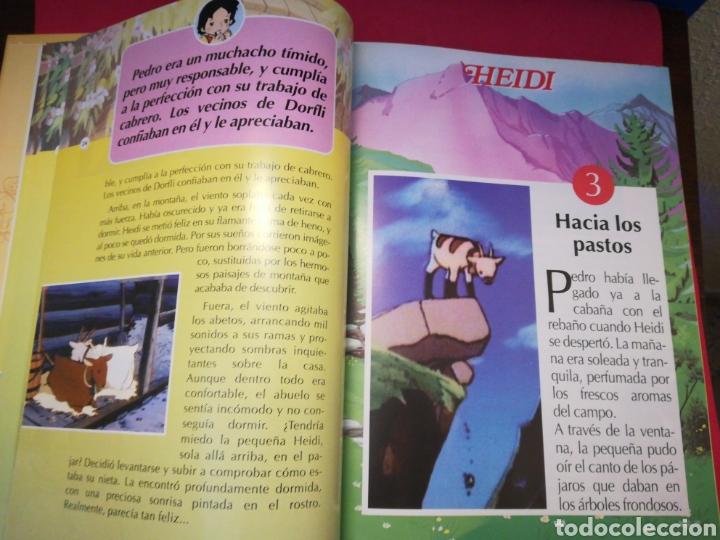 Gebrauchte Bücher: Heidi colección completa encuadernada 35 fasciculos - Club Internacional del Libro, 1995 - Foto 6 - 143369517