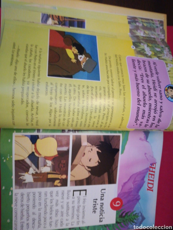 Gebrauchte Bücher: Heidi colección completa encuadernada 35 fasciculos - Club Internacional del Libro, 1995 - Foto 7 - 143369517