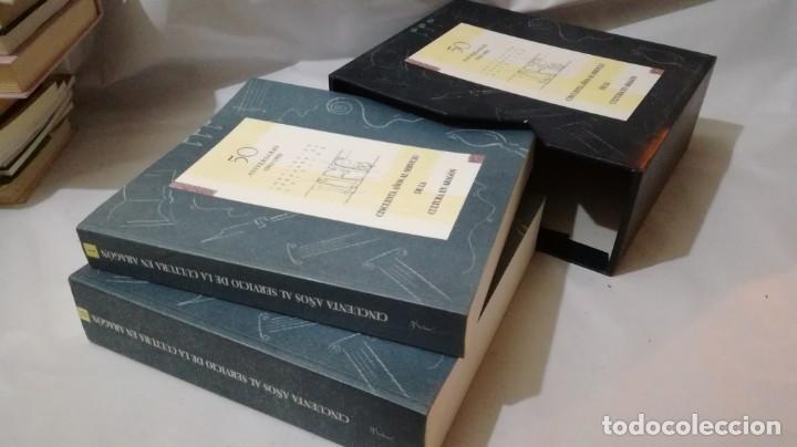 Libros de segunda mano: 50 AÑOS SERVICIO CULTURA ARAGÓN 1943-1993 INSTITUCIÓN FERNANDO EL CATÓLICO- 2 TOMOS EN ESTUCHE - Foto 4 - 143410890