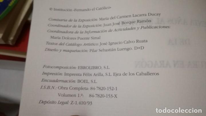 Libros de segunda mano: 50 AÑOS SERVICIO CULTURA ARAGÓN 1943-1993 INSTITUCIÓN FERNANDO EL CATÓLICO- 2 TOMOS EN ESTUCHE - Foto 7 - 143410890