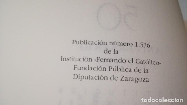 Libros de segunda mano: 50 AÑOS SERVICIO CULTURA ARAGÓN 1943-1993 INSTITUCIÓN FERNANDO EL CATÓLICO- 2 TOMOS EN ESTUCHE - Foto 8 - 143410890