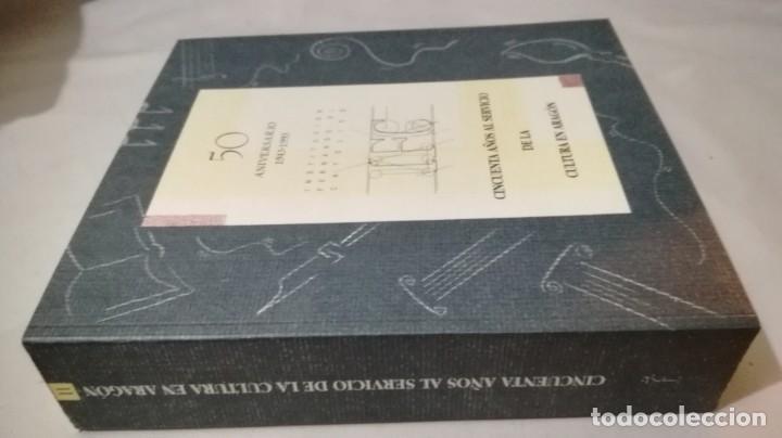 Libros de segunda mano: 50 AÑOS SERVICIO CULTURA ARAGÓN 1943-1993 INSTITUCIÓN FERNANDO EL CATÓLICO- 2 TOMOS EN ESTUCHE - Foto 17 - 143410890